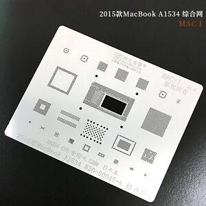 980YFC 338S00466-A0 338S00267-A0 For Macbook A1989//A1990 T2 BGA Stencil Reballin