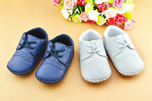 Baby-Boy-White-Christening-shower-wedding-Party-pageboy-PVC-leather-first-Shoes