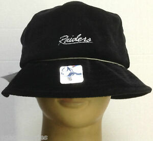 eab160cbf1998b NFL Oakland Raiders Reebok Women's Bucket Safari Hat NEW! | eBay