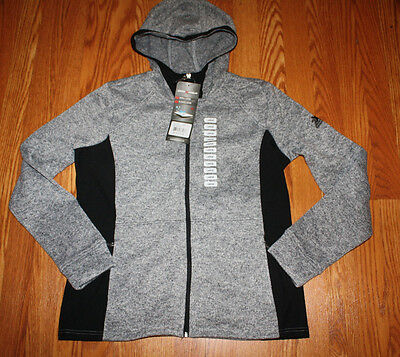 Nwt Womens Zeroxposur Heathered Gray Knit Fleece