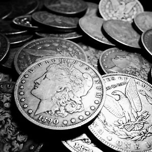 1878-1921-AVG-CIRCULATED-Silver-Morgan-Dollar-Rare-US-Old-Antique-Coin-Lot