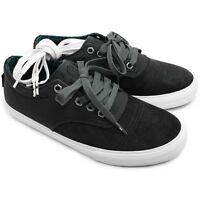 Dekline Men's Jaws Shoes, Pewter/white, Size 11