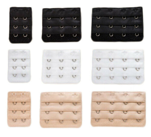 Ladies Bra Extender Bra Extension Strapless Underwear Strap 2 3 4 Hooks