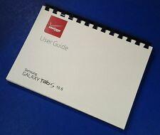 Samsung Galaxy Tab S 10.5 (Verizon model SM-T807V) User Manual/Guide