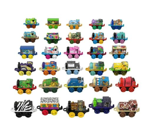 Series 1 Brand New Lot of 10 Thomas The Train /& Friends Minis Blind Bag