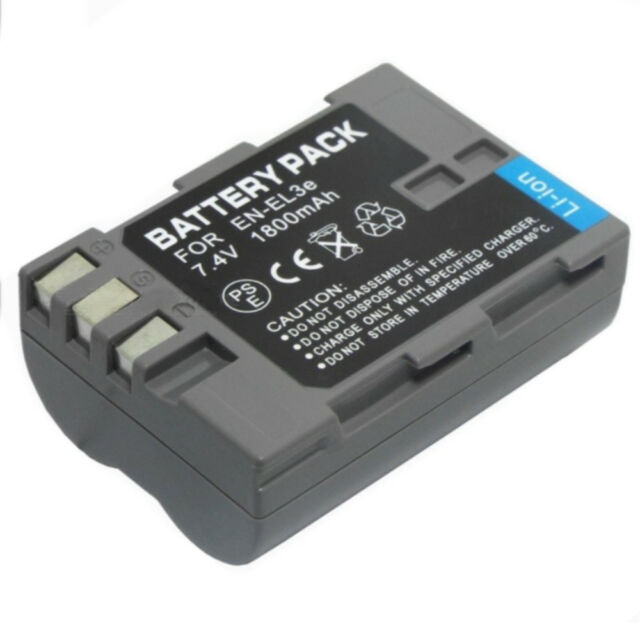 AU Battery EN-EL3e ENEL3E for Nikon D100 D200 D300 D300S D700 D70 D70S D80 D90