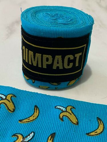 5cm x 4m *NEW* Impact Boxing MMA Muay Thai Hand Wraps MIX PACK