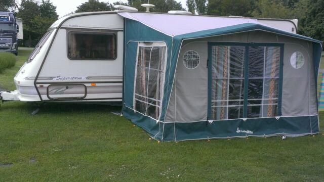 Isabella Magnum Porch Caravan Awning for sale online | eBay