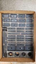 Vintage Metal Letterpress Furniture 1
