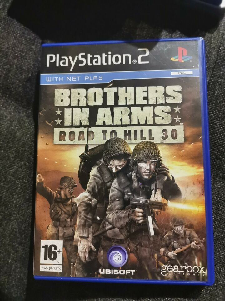 Brothers In Arms Road To Hill 30, PS2, FPS