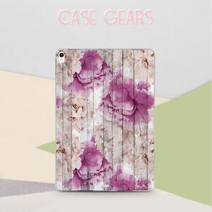 Retro-Flowers-iPad-Air-2-3-Mini-4-5-Silicone-Case-Floral-iPad-9-7-5-6-Gen-Cover