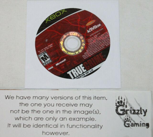 USED True Crime Streets of LA Microsoft XBOX (NTSC) DISC ONLY!!