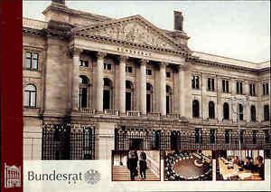 BERLIN-Politik-BUNDESRAT-Gebaeude-Bauwerk-Postkarte-neuwertig-ungelaufen-color