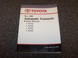 1993 1994 1995 Toyota Corolla A245e Transmission Shop