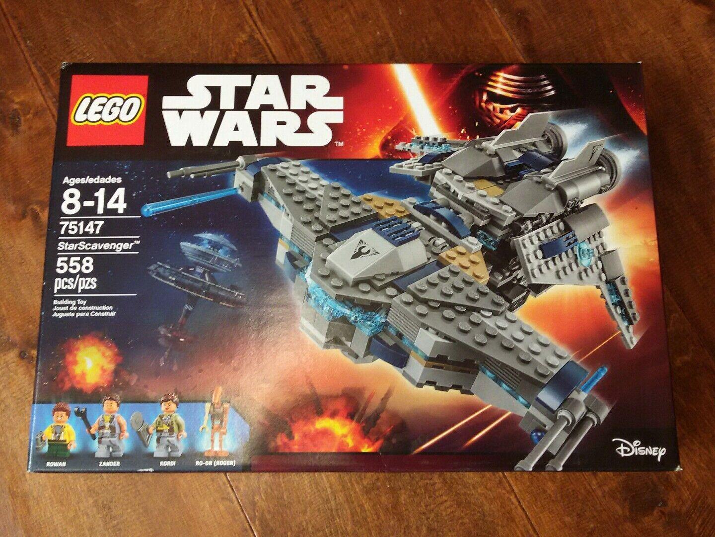 Lego Star Wars Set StarScavenger 75147 New Complete Factory Sealed Sealed Sealed  541017
