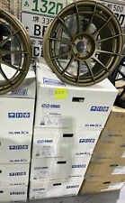 Enkei Nt03rr 18x105 5x1143 15 Titanium Gold Color All 4 Wheels Brand New
