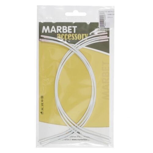 1x Bra Wires 4 Pairs 26cm White Sewing Craft Tool Hobby Art UK Bulk Filoro