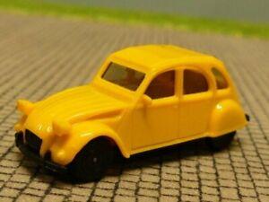 1/87 Herpa Citroen 2CV gelb