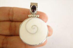 Shiva-Eye-Shell-Purple-Amethyst-925-Sterling-Silver-Pendant