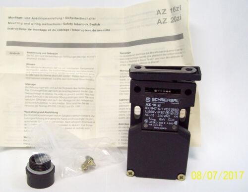 PART # AZ16-Z1 SCHMERSAL Safety Switch with Individual Encoding