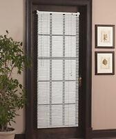 Magnetic Blind For Steel Door Window Vinyl Mini Blind Curtain Magnet Shade 25x68
