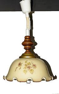 Dettagli su Lampadario cucina decorato vetro neon design classico occasione  completo affare