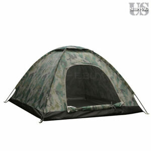 3-4-Person-Outdoor-Camping-Waterproof-4-Season-Family-Tent-Camouflage-Hiking-US