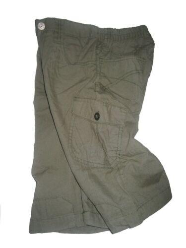 in khaki Größe 122 NEU kurze Hose Short CFL Kinder Jungen Bermuda