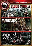 Maneater Series Collection Vol 1 - Blood Monkey, In The Spiders Web, Maneater (DVD, 2009, 3-Disc Set)