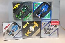 Collection of 5 pcs, vitesse formula 1 vehicles 1/43 Scale Onyx and other-