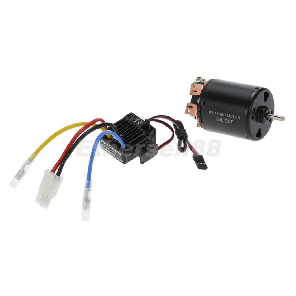Surpass 540 35T Brushed Motor+60A Brushed ESC Combo for 1 10 RC Car Crawler