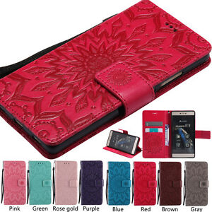 Magnetic-Leather-Wallet-Flip-Pattern-Case-Cover-For-Huawei-Mobile-Phone-Holster