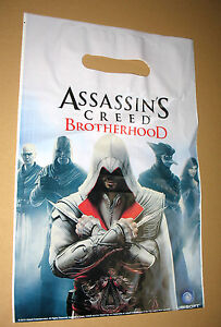 Assassins Creed Brotherhood & Black Flag / Watch Dogs promo small Shopping Bag - Bielefeld, Deutschland - Assassins Creed Brotherhood & Black Flag / Watch Dogs promo small Shopping Bag - Bielefeld, Deutschland