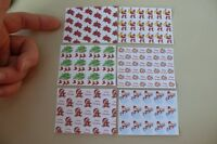 1/12th Dolls House - Christmas Wrapping Paper - Sg