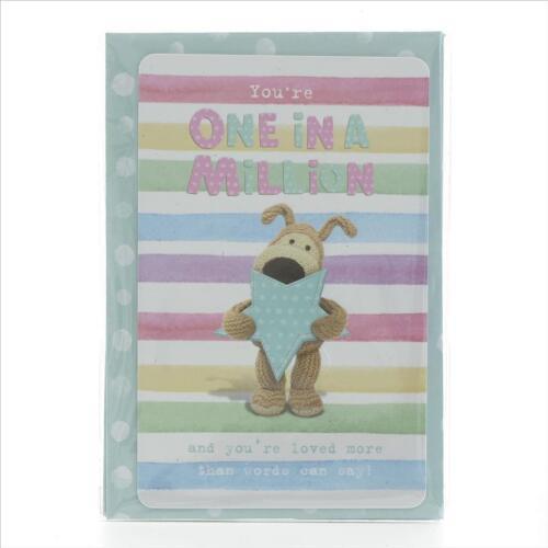 Boofle Keepsake Card /& Envelope 9.5cm x 6.5cm
