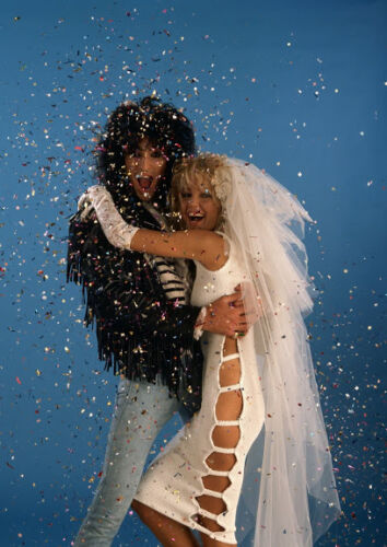 Art print POSTER Heather Locklear and Tommy Lee
