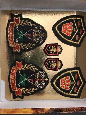 Golf Champion Cloth Badges