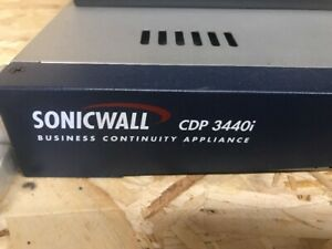 SONICWALL-CDP-3440i-Business-Continuity-Appliance-Storage-System-Backup