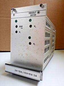Vero-Schaltnetzteil-GK120-2-Trivolt-5V-12A-12-15V-2A-Typ-116-010175L-NOS