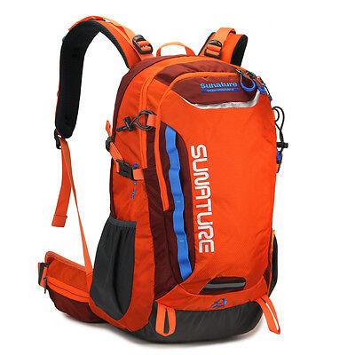Outdoor 40L Waterproof sport travel laptop hiking camp backpack Rucksack bag men