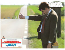 ROWAN ATKINSON auto-stop hitchhicker LOBBY CARD PHOTO LES VACANCES DE MR.BEAN