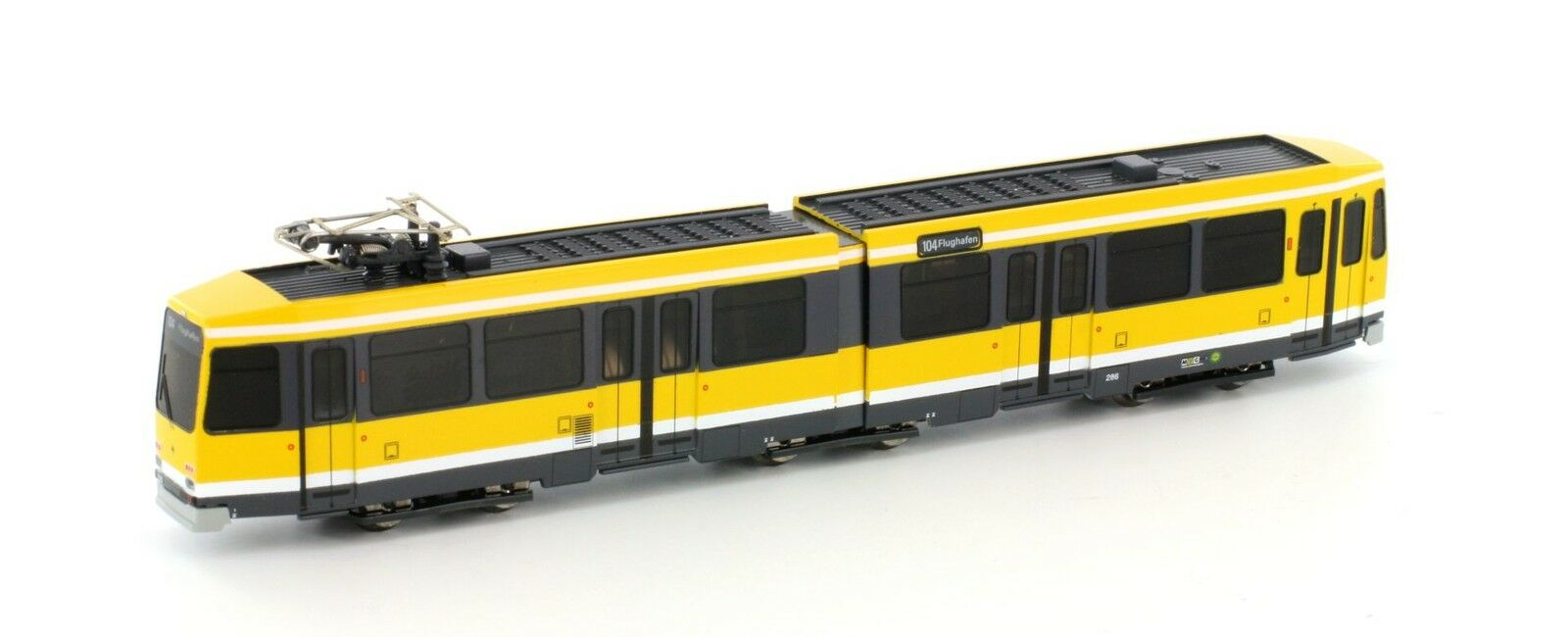 Hobbytrain 14902 tranvía düwag m6  RFA Ruhr  Analog  neu en OVP