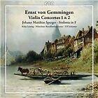 Ernst von Gemmingen: Violin Concertos Nos. 1 & 2 (2012)