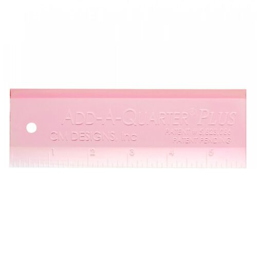 """Great for Paper Piecing!!! CM Designs Ruler Pink Add-A-Quarter PLUS 6/"""""""