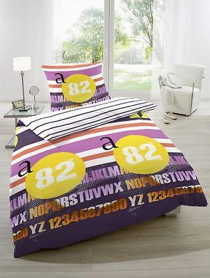 Betz 2teilige Bettwäsche Bettgarnitur Bettbezug PINK 135x200 cm und 155x220 cm