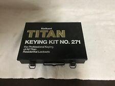 Titan 271 Keying Kit
