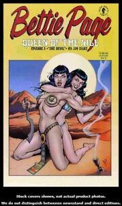 Bettie-Page-Queen-of-the-Nile-3-Dark-Horse-2000-VF-NM-Jim-Silke