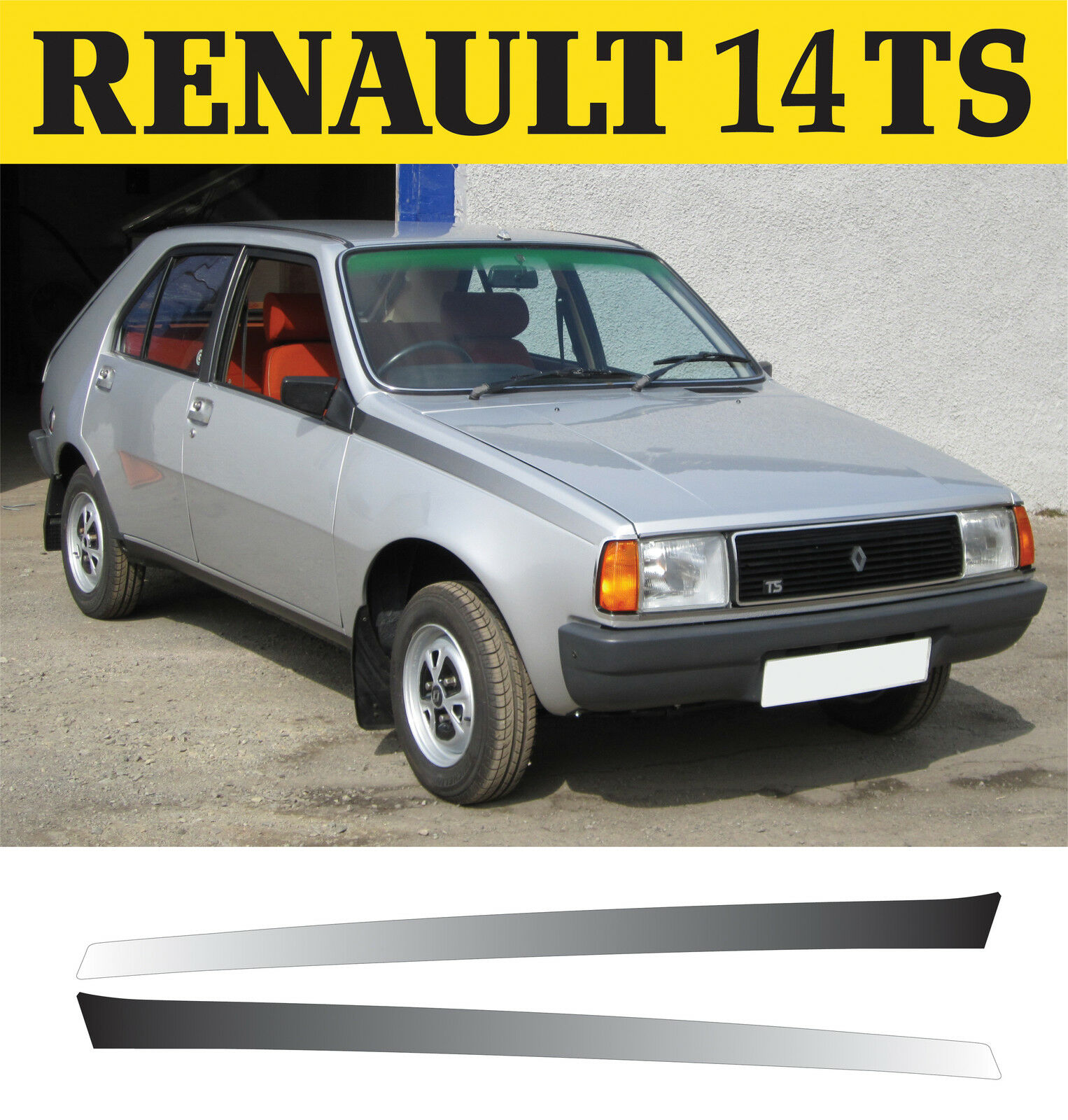 RENAULT r14 TS VERDE 1976-1982 nr 712 1//18 otto modello auto con o senza indiv...