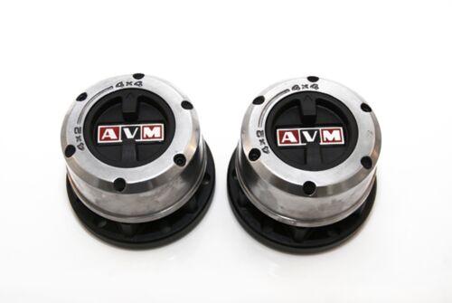 Pair of AVM419 Manual Free Wheeling Hubs for Toyota Land Cruiser 40 Series