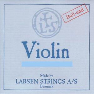 Genuine Larsen Violin E String 4/4 Steel Loop End